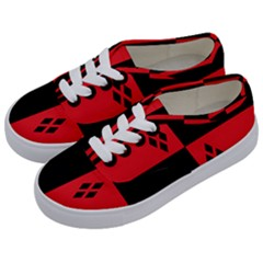 Harley Kids  Classic Low Top Sneakers by raeraeshescrafty
