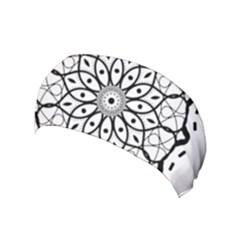 Textura Model Texture Design Lines Yoga Headband