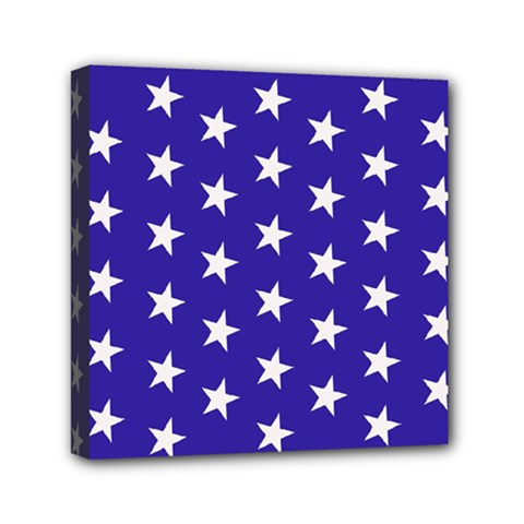Day Independence July Background Mini Canvas 6  X 6  (stretched)