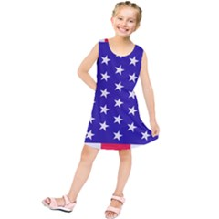 Day Independence July Background Kids  Tunic Dress