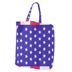 Day Independence July Background Giant Grocery Tote