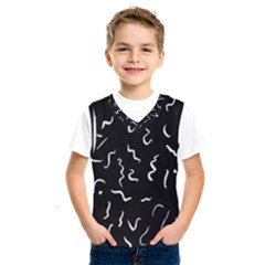 Scribbles Lines Drawing Picture Kids  Sportswear
