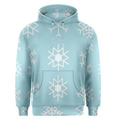 Snowflakes Winter Graphics Weather Men s Pullover Hoodie