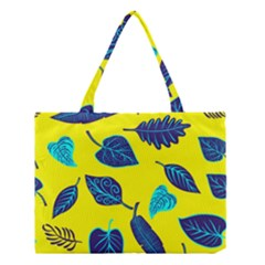 Leaves Pattern Picture Detail Medium Tote Bag