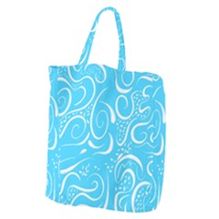 Scribble Reason Design Pattern Giant Grocery Tote