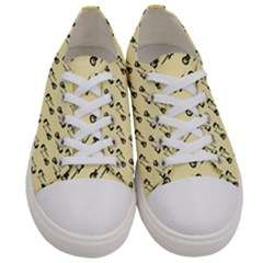 Guitar Guitars Music Instrument Women s Low Top Canvas Sneakers