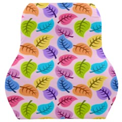 Colorful Leaves Car Seat Back Cushion  by vintage2030