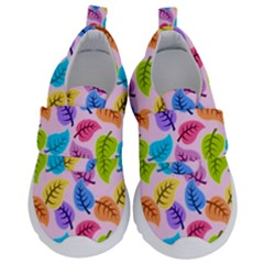 Colorful Leaves Velcro Strap Shoes by vintage2030