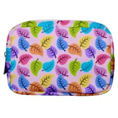 Colorful Leaves Make Up Pouch (small) by vintage2030
