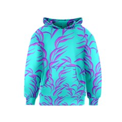 Branches Leaves Colors Summer Kids  Pullover Hoodie