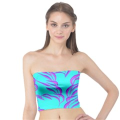 Branches Leaves Colors Summer Tube Top