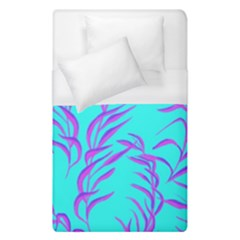 Branches Leaves Colors Summer Duvet Cover (single Size)