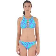 Branches Leaves Colors Summer Perfectly Cut Out Bikini Set
