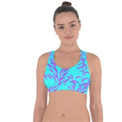 Branches Leaves Colors Summer Cross String Back Sports Bra