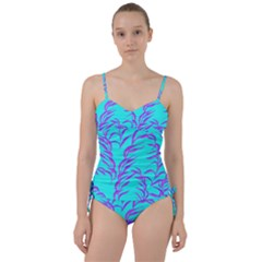 Branches Leaves Colors Summer Sweetheart Tankini Set