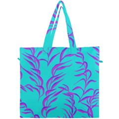Branches Leaves Colors Summer Canvas Travel Bag by Simbadda
