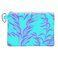 Branches Leaves Colors Summer Canvas Cosmetic Bag (xl) by Simbadda