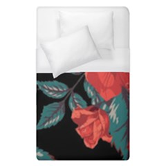 Bed Of Bright Red Roses By Flipstylez Designs Duvet Cover (single Size)
