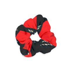 Bright Red Roses By Flipstylez Designs Velvet Scrunchie
