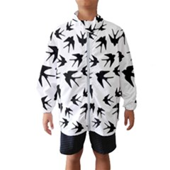 Vintage Birds Pattern Windbreaker (kids)