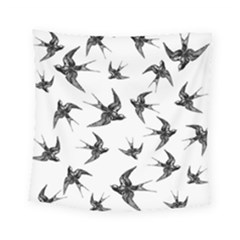 Birds Pattern Square Tapestry (small)