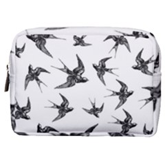 Birds Pattern Make Up Pouch (medium)