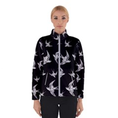 Birds Pattern Winter Jacket
