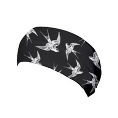 Birds Pattern Yoga Headband