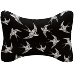 Birds Pattern Seat Head Rest Cushion