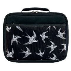 Birds Pattern Lunch Bag