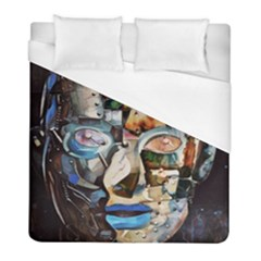 Robot Cyborg Cyberpunk Automation Duvet Cover (full/ Double Size) by Simbadda