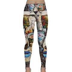 Robot Cyborg Cyberpunk Automation Lightweight Velour Classic Yoga Leggings