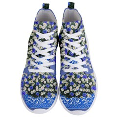 Marguerite Cornflower Vase Blossom Men s Lightweight High Top Sneakers