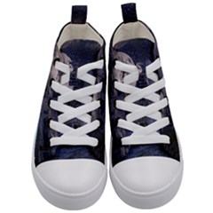 Place Of Worship Scotland Celts Kid s Mid Top Canvas Sneakers