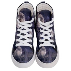 Place Of Worship Scotland Celts Men s Hi Top Skate Sneakers