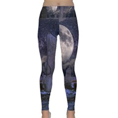 Place Of Worship Scotland Celts Lightweight Velour Classic Yoga Leggings