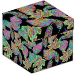 Autumn Pattern Dried Leaves Storage Stool 12