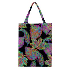 Autumn Pattern Dried Leaves Classic Tote Bag by Simbadda