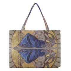 Mosaic Painting Glass Decoration Medium Tote Bag