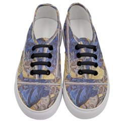 Mosaic Painting Glass Decoration Women s Classic Low Top Sneakers
