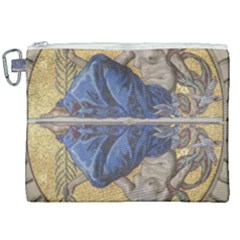 Mosaic Painting Glass Decoration Canvas Cosmetic Bag (xxl) by Simbadda