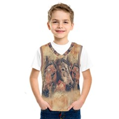Head Horse Animal Vintage Kids  Sportswear