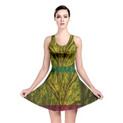Rasta Forest Rastafari Nature Reversible Skater Dress