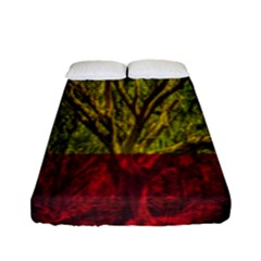 Rasta Forest Rastafari Nature Fitted Sheet (full/ Double Size)