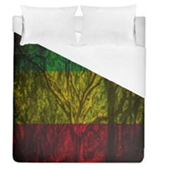 Rasta Forest Rastafari Nature Duvet Cover (queen Size)