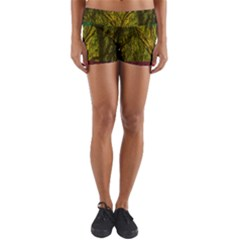 Rasta Forest Rastafari Nature Yoga Shorts