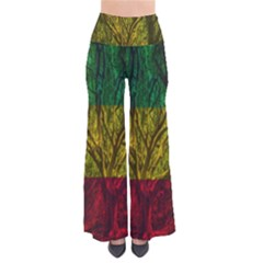 Rasta Forest Rastafari Nature So Vintage Palazzo Pants