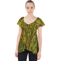 Rasta Forest Rastafari Nature Lace Front Dolly Top