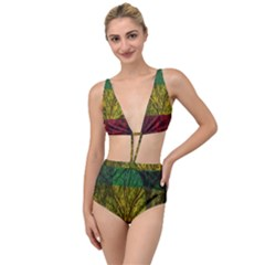 Rasta Forest Rastafari Nature Tied Up Two Piece Swimsuit