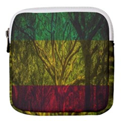 Rasta Forest Rastafari Nature Mini Square Pouch